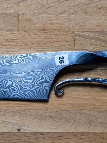 26 Mønstersmedet kokkekniv